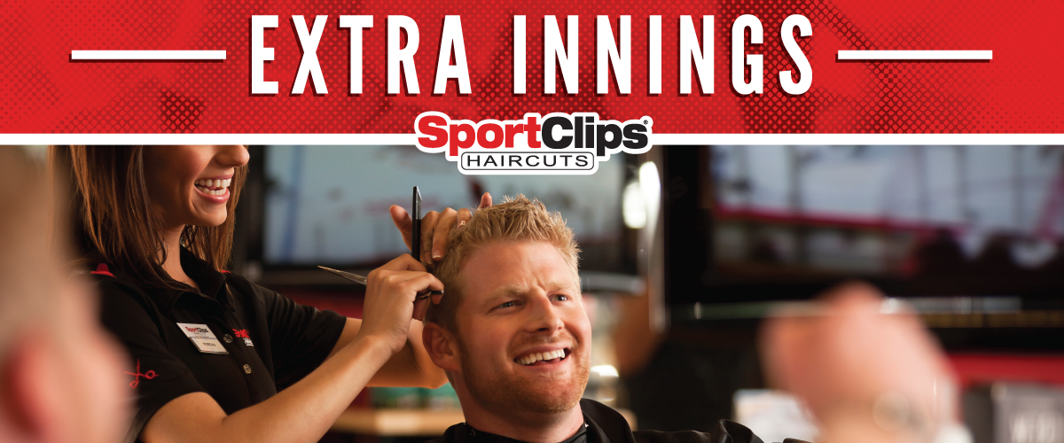The Sport Clips Haircuts of Amelia Point Extra Innings Offerings